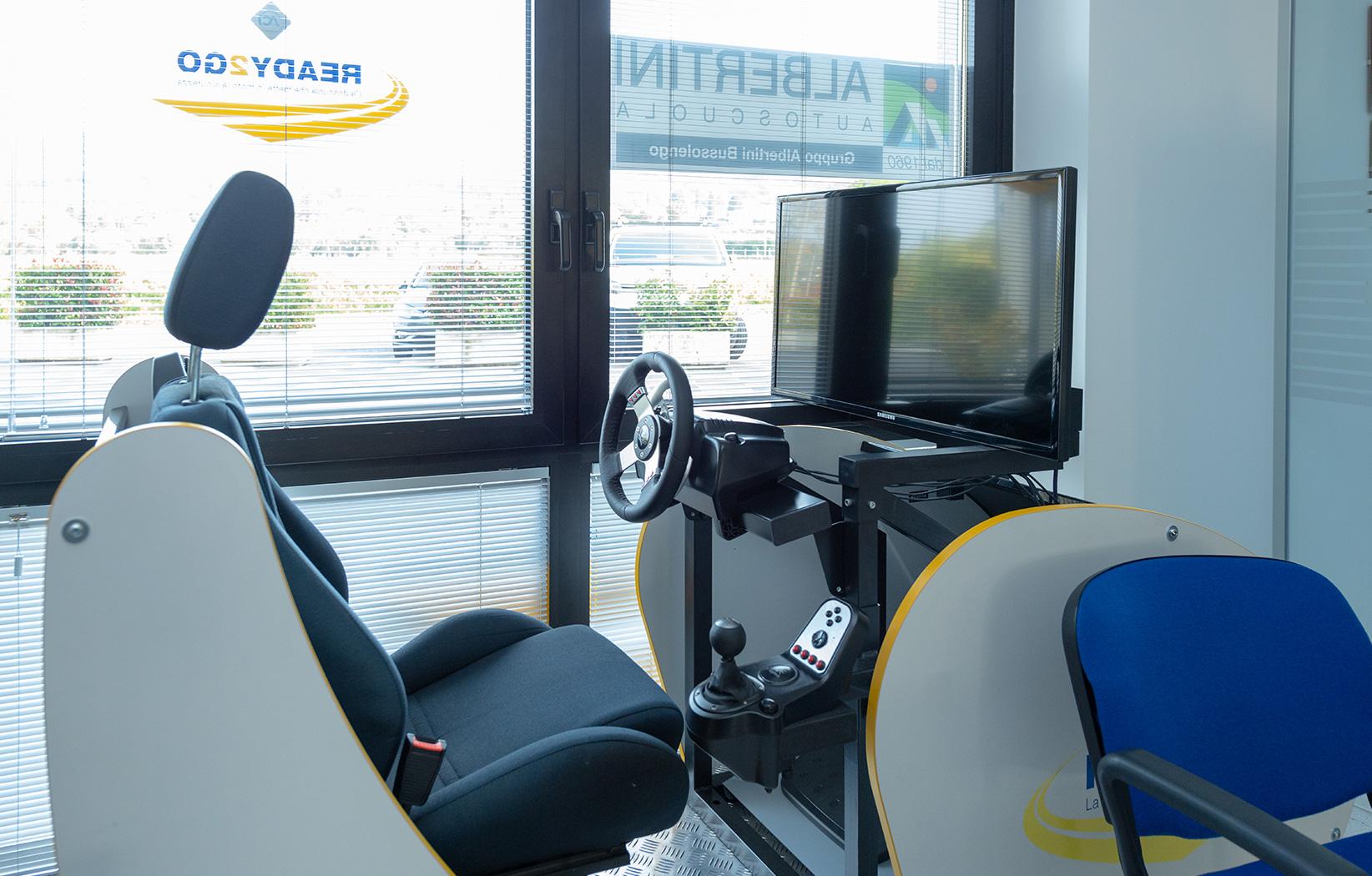 simulatore guida, albertini autoscuola patenti, patenti nautiche